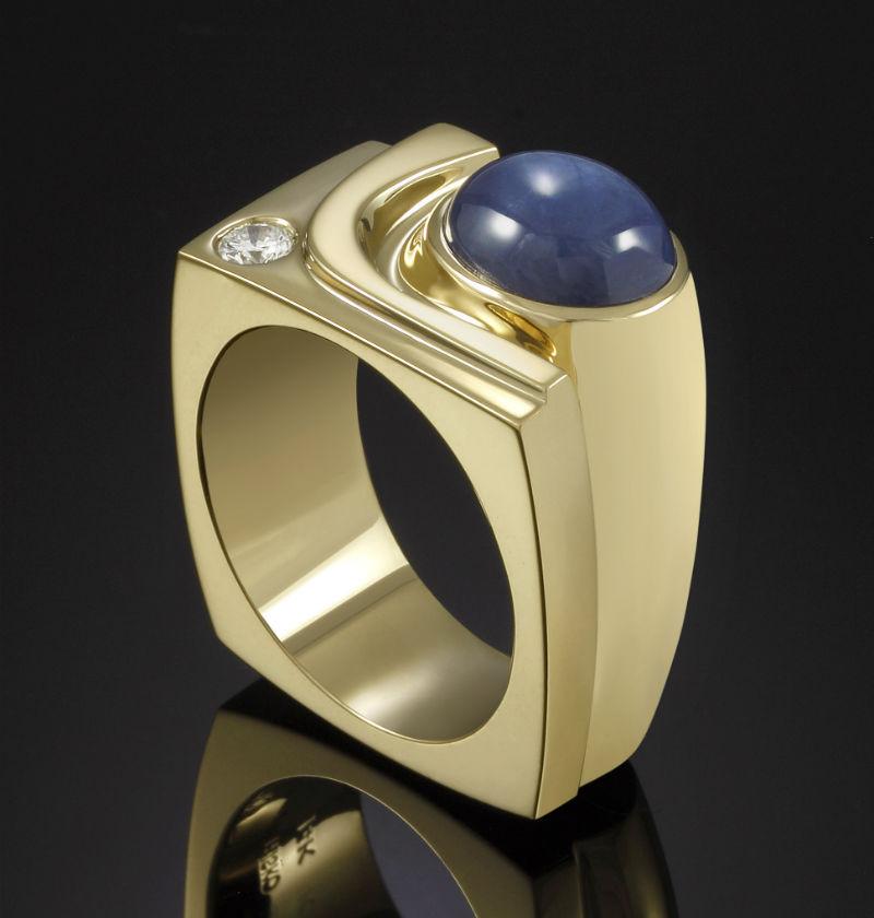 Mens Rings - Trisko Jewelry Sculptures, Ltd